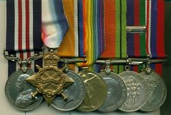 A Wwi Mm Group Of 7 Awarded To Major G. A. Annand Royal Canadian Ordnance Corps