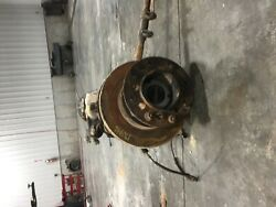 2016 Ford F350sd Pickup Front Axle Assembly Pickup Drw 3.73 Ratio 16