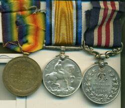 A Wwi M.m. Group Of Three Awarded To Private M. Cole 50th Calgary Battalion