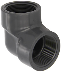 Spears 808-003 Schedule 80 Pvc 3/8 90° Degree Fpt X Fpt Threaded Elbow