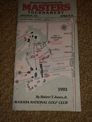 Masters Golf Antique Guides, Pairing Sheets And Hats