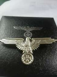 Wwi Ww2 German Medal Eagle Medals Safty Pin Badge Iron Cross Brooch With Box