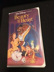 Rare - Beauty And The Beast Vhs Tape - 1992 Black Diamond Classic Vhs 1325