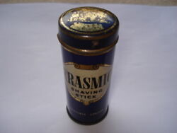 C1930s Erasmic London By Appointment To The Late King Geo V Shaving Stick Tin