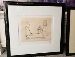 John Lennon Original Lithograph Signed By Yoko - And039i Doand039 Sold Out Bag One Arts