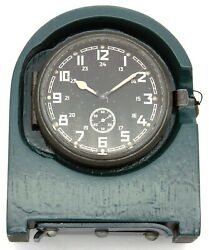 8-day 8-tage Germany Wwii Army Clock Kienzle №7339, 1943-made In Wooden Stand