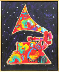 Peter Max Grammy Painting