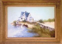 Albert Swayhoover, Home on the Sea, Oil Painting