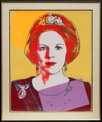 Andy Warhol Queen Beatrix of the Netherlands (FS.II.341) Screenprint on Lennox