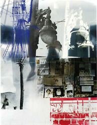 Robert Rauschenberg NarcissusROCI USA (Wax Fire Works) Acrylic Enamel and F