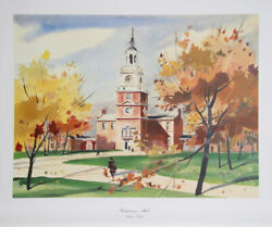 Andrew Wyeth Independence Hall Poster