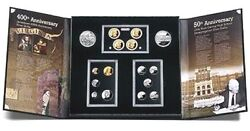 4 2007 United States Mint American Legacy 16 Proof Coin Sets - Sealed Box
