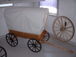 Covered Wagon Ornamental Toy Pull Behind Custom Amish Made