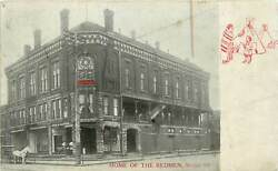 Illinois, Il, Moline, Home Of The Redmen Improved Order Of The Redmen Udb Pc