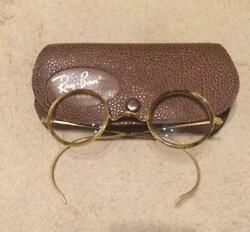 Rayban Vintage Antique Glasses Men Accessory Fashion 70's Bandl Used F/s