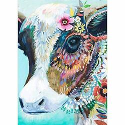 Diy 5d Diamond Painting Like A Paint By Number Cow Cat Harley Much More