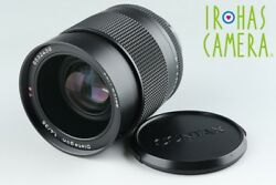 Contax Carl Zeiss Distagon T* 35mm F1.4 AEG Lens for CY Mount #16272A2
