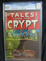 Tales From The Crypt 28 Feb-mar 1952, Ec Cgc 8.0 White Pages