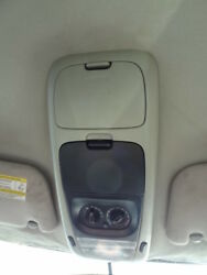 04 Ford Explorer OEM Overhead Bezel Rear AC Climate Control Switch Light Console