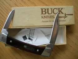 Vintage 1989 Buck 709 Knife With Box Never Used Personalized