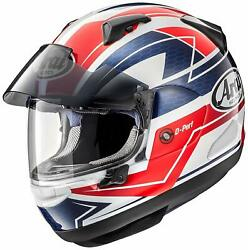 Arai Helmet Red M 57-58cm Astral-x-curve-rd-57 Full Face Ems F/s Made In Japan