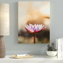 Ebern Designs 'Meditation and Calming (7)' Photographic Print on Canvas