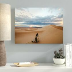 Ebern Designs 'Meditation and Calming (39)' Photographic Print on Canvas