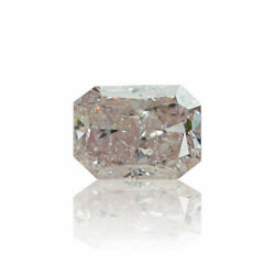 Pink Natural Diamond 0 .29 Ct Fancy Light Color Gia Certified Real Radiant Cut