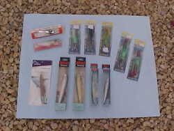 Big Saltwater 12 Lure Collection Rapalabraidsea Striker And Creek Chub New