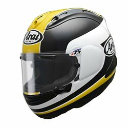 Arai Motorcycle Helmet Full Face Rx-7x Yellow L 59-60cm Ems F/s Made In Japan