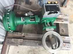 Fisher 8-150 Sst 8560 Wafer With 1052-40/3622 Control Valve Used Surplus