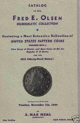 1944 Max Mehl Auction Cat W/prices Cd Coins 1913 Lib