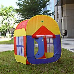 Portable Kids Baby Play House Garden Folding Toy Tent Game Outdoor Indoor