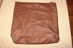 COACH Designer Storage Dust Cover Bag Purse Holder 14.5