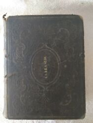 1864 Domestic Bible Old And New Testament By The Rev. Ingram Cobbin Illustrated