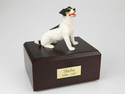 Jack Russell Terrier BlackBrown Pet Cremation Urn Avail. 3 Colors