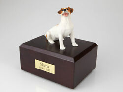 Jack Russell Terrier Brown Pet Cremation Urn Available 3 Diff. Colors