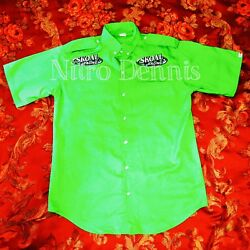 Nhra Ron Capps Don Snake Prudhomme Funny Car Nitro Crew Shirt Jersey Large