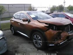 Passenger Right Rear Side Door Fits 15-18 MURANO 2634381