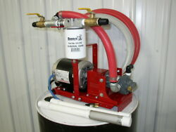 New Complete Waste Oil Transfer/filtration Pump,10 Micron,heaters,burner,furnace
