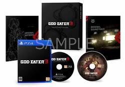 Ps4 God Eater 3 First Press Limited Edition Steel Book Set Japan Game