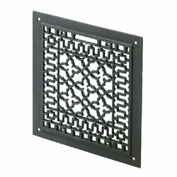 Cast Iron Floor Wall Ceiling Grille 12 X 14 Black