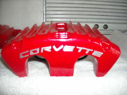 Powder Coated And Rebuilt Red Black Andyellow C5 Calipers