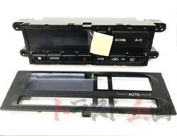 663111108S1 Climate Control Unit and Panel Set AC Heater Control GTR R32 BNR32