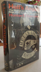 Hunter S Thompson / Hell's Angels Signed The Strange And Terrible Saga 1st 1967