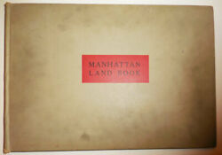 New York Architecture / Manhattan Land Book Desk And Library Edition 1st Ed 1934