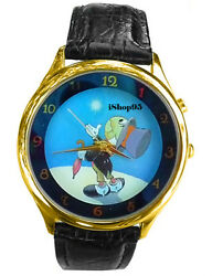 New Disney Jiminy Cricket Upon Star Lights Up Watch Limited Edition