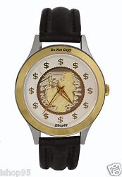 New Menand039s Mcdusck Uncle Scrooge Money Watch Old Stock Retired