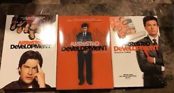 Arrested Development - Season 1, 2, And 3 Dvd - Used