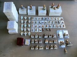 Huge 80 Piece Lot Of Berta Hummel Figurines And Ornaments